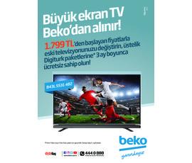 Beko Elektronik Kataloğu Ağustos 2017katalog, kampanya