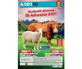 A101 - Kurbanlık Alımları katalog, kampanya