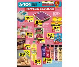 A101 - Haftanın Yıldızları Aktüel Ürünler 19-25 Ağustoskatalog, kampanya