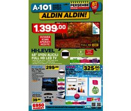 A101 - Aldın Aldın! 21 Eylülden İtibarenkatalog, kampanya