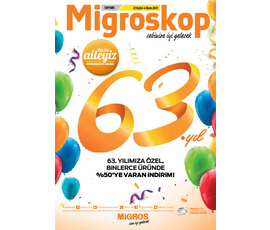 Migroskop 21 Eylül-4 Ekim 2017katalog, kampanya