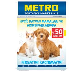 Metro Evcil Hayvan Mamaları ve Aksesuarları 20 Eylül-4 Ekimkatalog, kampanya