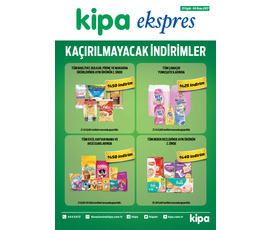 Kipa Ekpres 21 Eylül - 4 Ekim 2017 Aktüel Ürünler Kataloğukatalog, kampanya