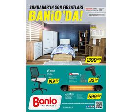 Banio Yapı Market Ekim 2017 Kataloğukatalog, kampanya