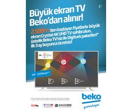 Beko Elektronik Aletler Ekim 2017katalog, kampanya