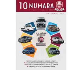 Fiat 10 Numara Dergi Ekim-Aralık 2017katalog, kampanya