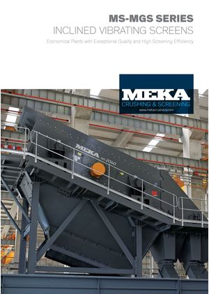 MEKA Crushing Screening and Concrete Batching Tech