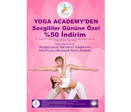 Sevgililer gününe özel %50 indirim, Yoga Academy Denizli, Denizli - Pamukkale