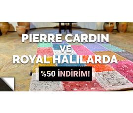 Pierre Cardin ve Royal Halılarda %50 İndirim, Yıldırım Halı Perde, Denizli - Pamukkale