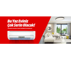 Bu Yaz Eviniz Çok Serin Olacak, Media Markt, İstanbul - Beşiktaş