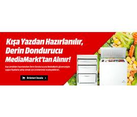 Kışa Yazdan Hazırlanılır, Derin Dondurucu Media Markt'tan Alınır!, Media Markt, İstanbul - Beşiktaş