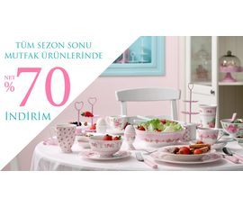 Sezon sonu mutfak ürünlerinde net %70 indirim, English Home, İstanbul - Ümraniye