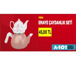 A101 - Emaye Çaydanlık Seti 45 TL , A101, İstanbul - Ümraniye
