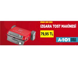 A101 - Sinbo Tost Makinesi 79,95 TL , A101, İstanbul - Ümraniye