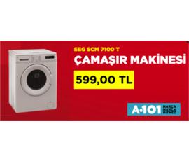 A101 - Çamaşır Makinesı  SEG A+  599 TL , A101, İstanbul - Ümraniye
