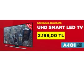A101 - Samsung UHD Smart Led TV 2199 TL , A101, İstanbul - Ümraniye