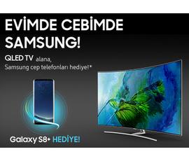 Teknosa 'dan Samsung QLED TV alana Samsung Cep Telefonu  Hediye!, Teknosa, İstanbul - Ataşehir