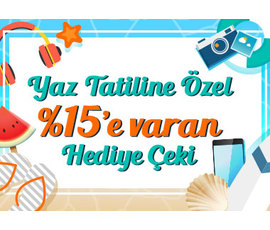 Teknosa'dan Yaz Tatiline Özel %15'e Varan Hediye Çeki!, Teknosa, İstanbul - Ataşehir