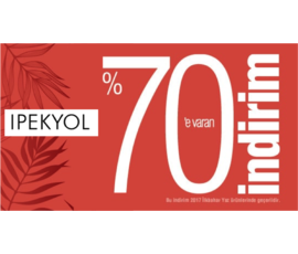 İlkbahar-Yaz sezon ürünlerinde %70 e varan indirim, İpekyol, İstanbul - Şişli