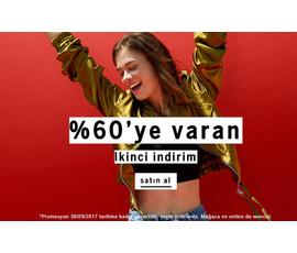 Bershka %60'a Varan İndirim (Kadın), Bershka, İstanbul - Beşiktaş