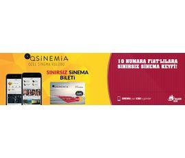 10 Numara Fiat'lılara Sinemia.com'dan Mükemmel Fırsat, Fiat, İstanbul - Şişli
