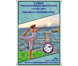 2. DÜNYA YOGA KOREOGRAFİ ŞAMPİYONASI, Yoga Academy Denizli, Denizli - Pamukkale
