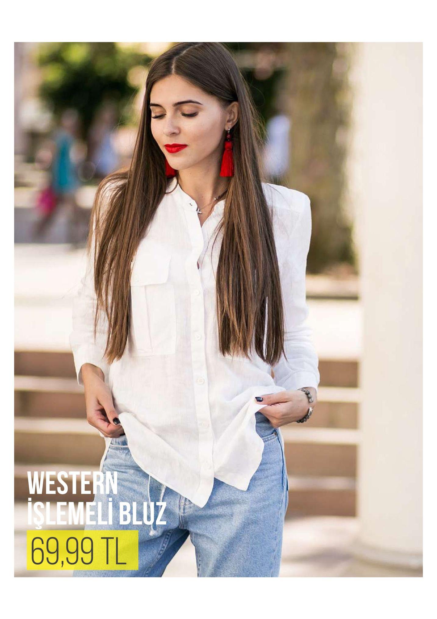 western şlemeli blu 69,99 tl