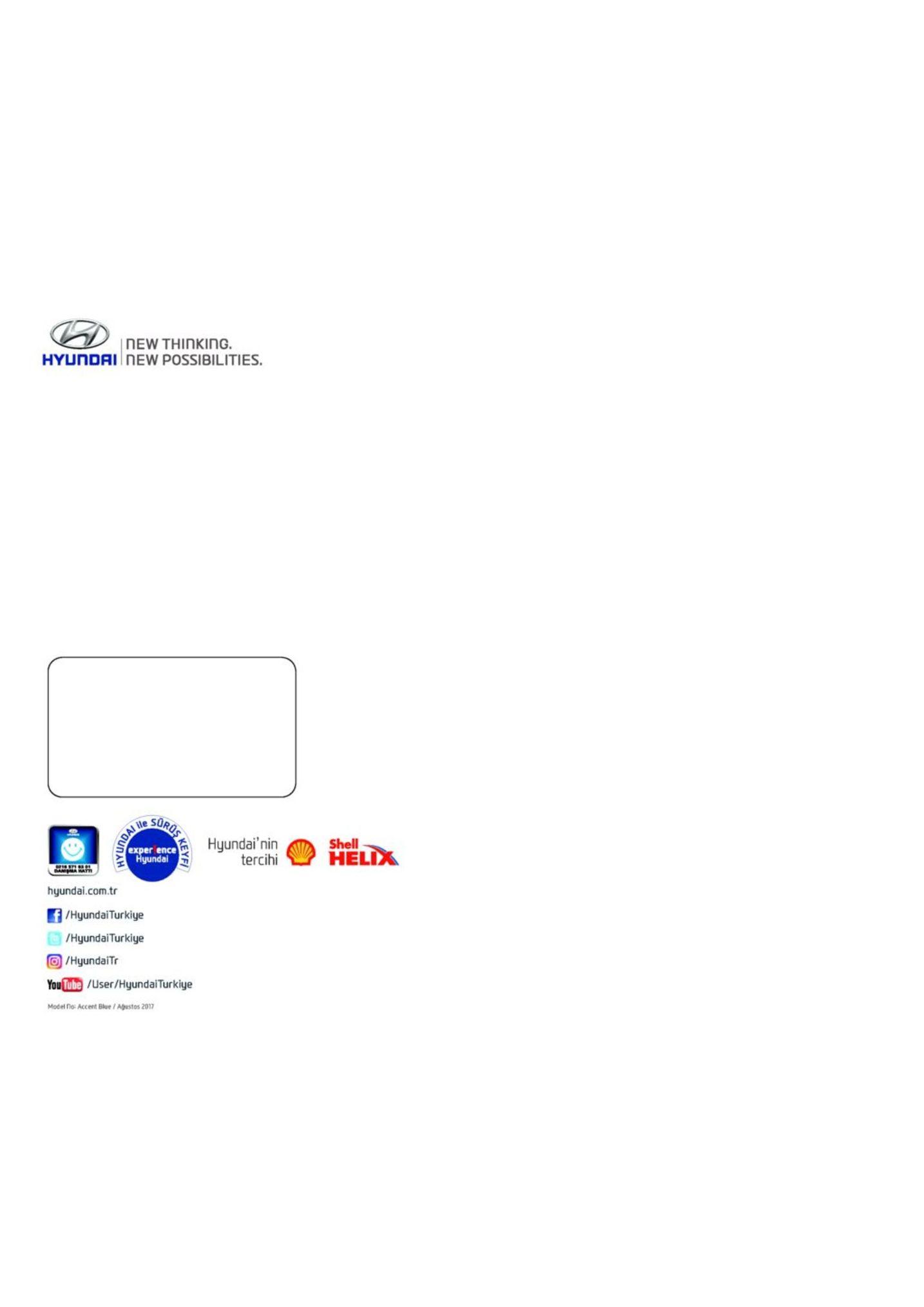 Hyundai Accent Blue Publins