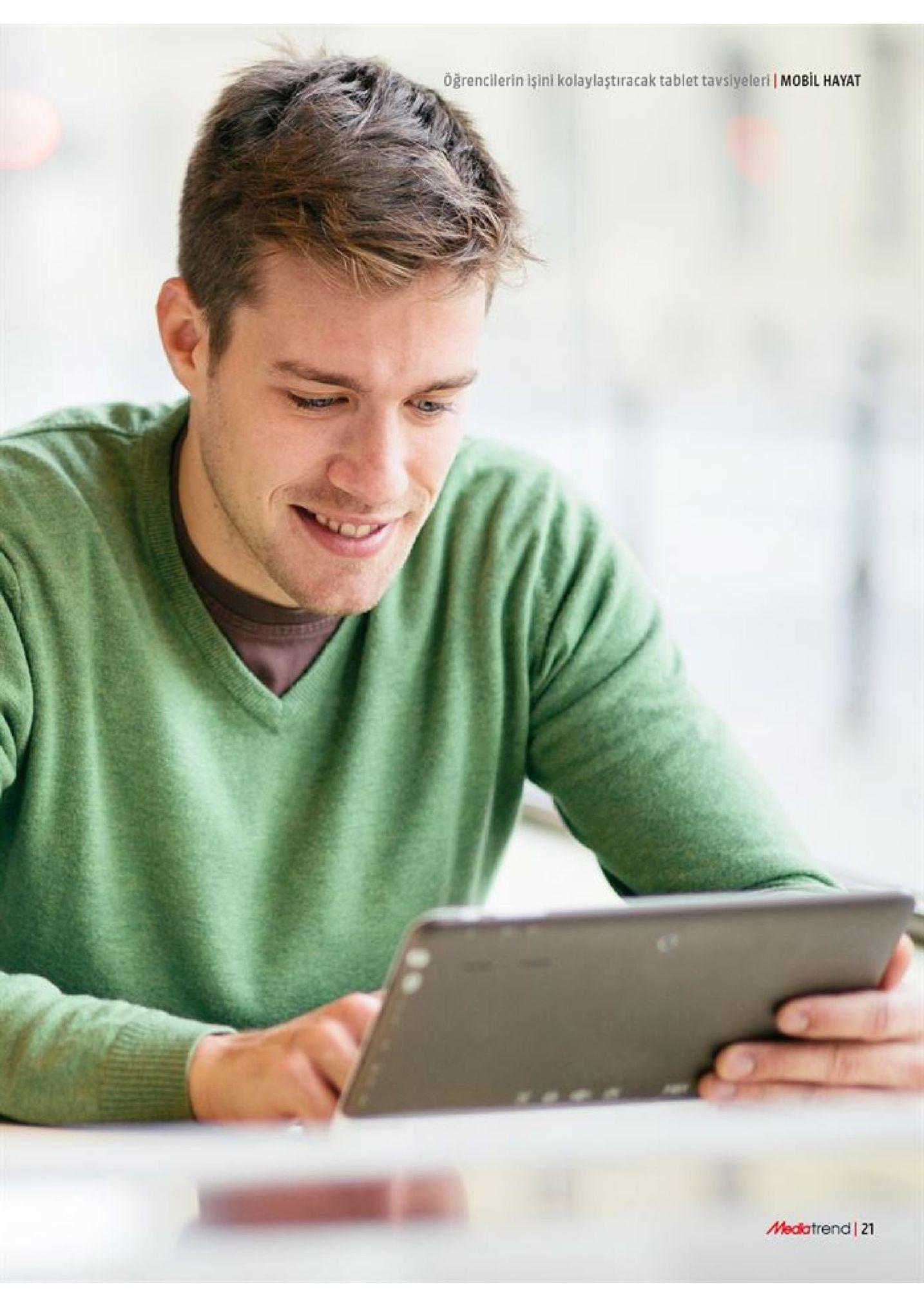 öğrencilerin işini kolaylaştıracak tablet tavslyeleri mobil hayat medatrend 21
