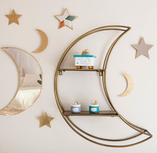 amadeus les petits_étagère_lune_miroir_étoile