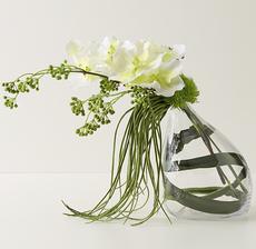 vase tulipe penchée