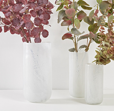 eucalyptus bordeaux vase