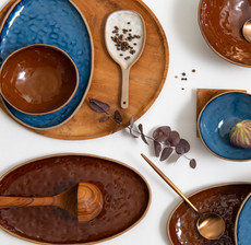 amadeus_table art_plate_blue_brown