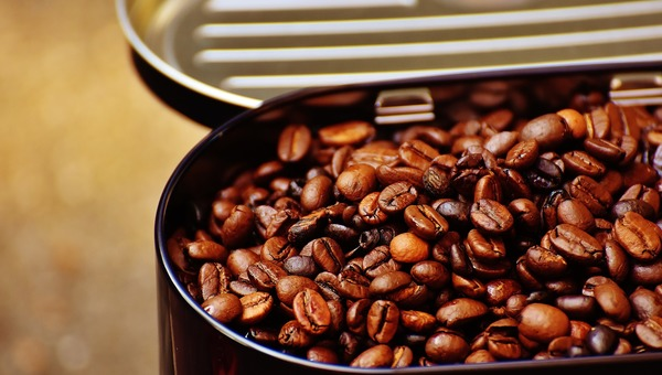 Storing cofee beans