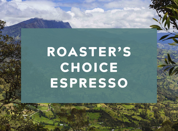 Roaster's choice espresso