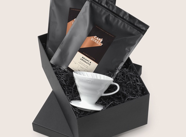 Bright and aromatic v60 gift box