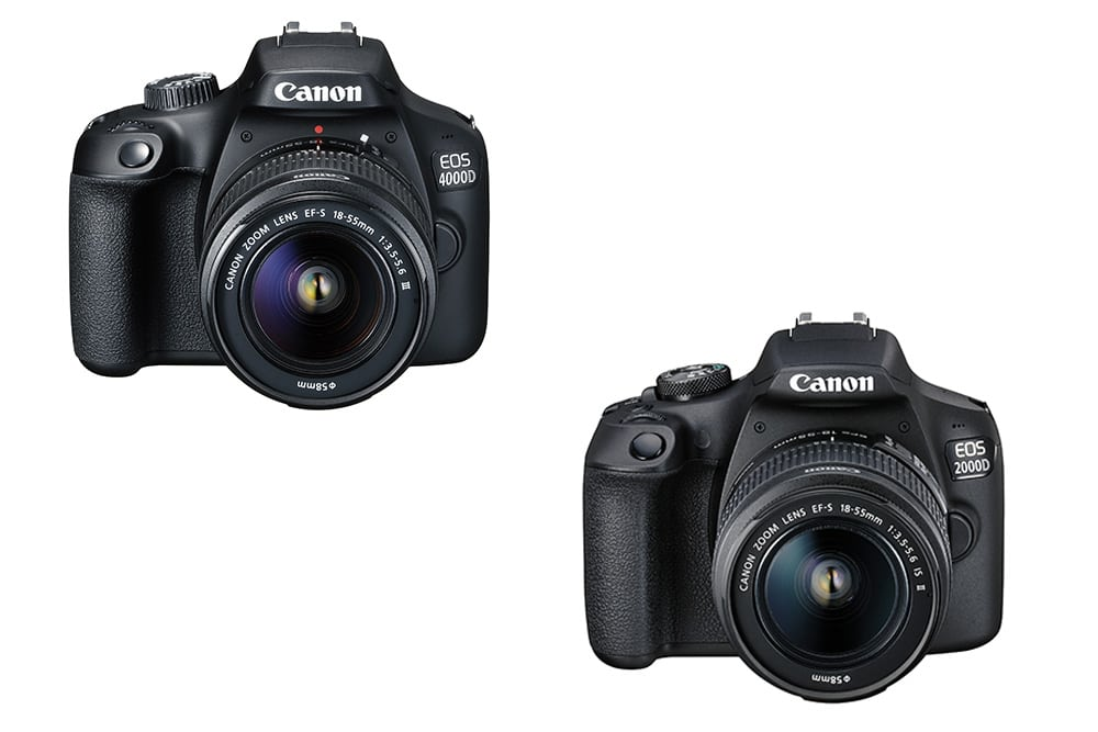 Canon Announce EOS 2000D and EOS 4000D