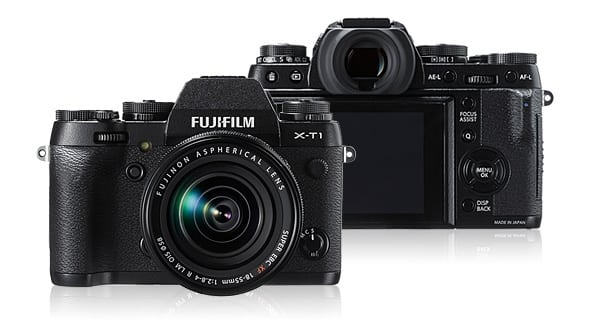 Fujifilm X-T1 gets updated to ver. 5.00