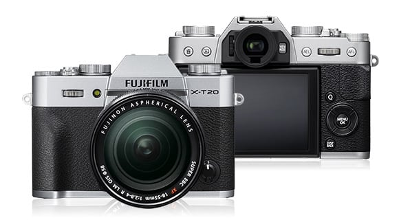 Fujifilm X-T20 firmware gets updated to ver. 1.02