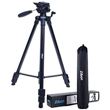 Tripod-Albott 64″ Camera Tripod 50% Off