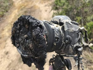 NASA Melted Camera