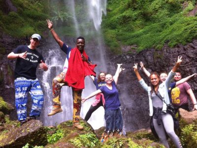 school_expedition_tanzania_impact_waterfall_celebration