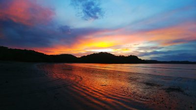 school_expedition_costa_rica_scuba_beach_sunset