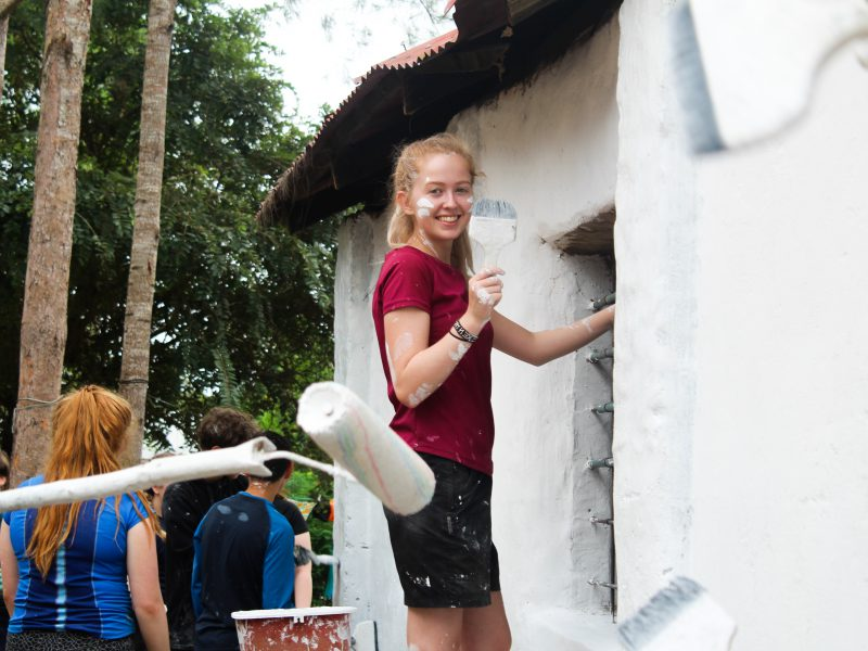 camps_international_girl_painting_on_our_projects