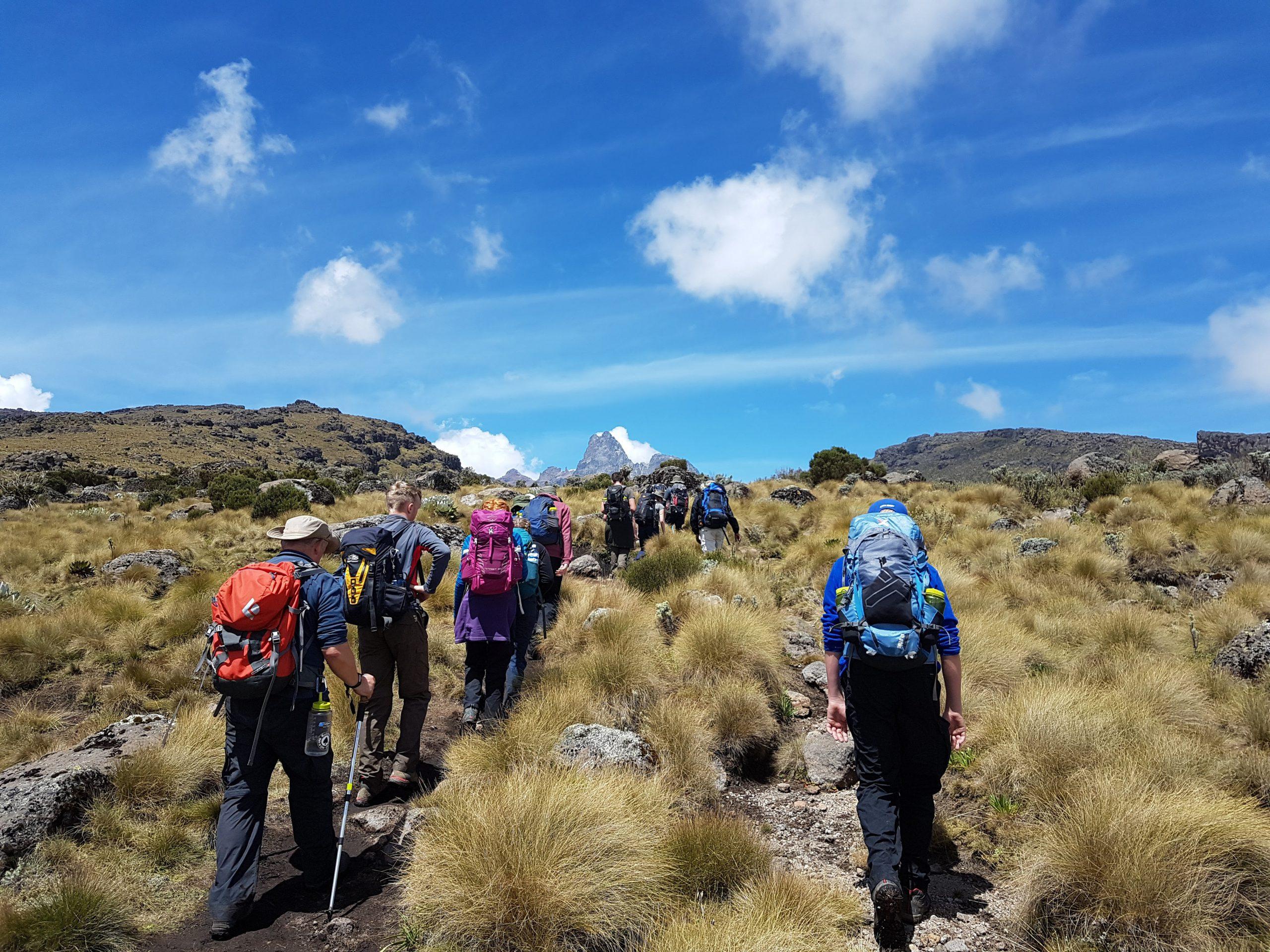 school_expedition_kenya_trek_climbing_hill