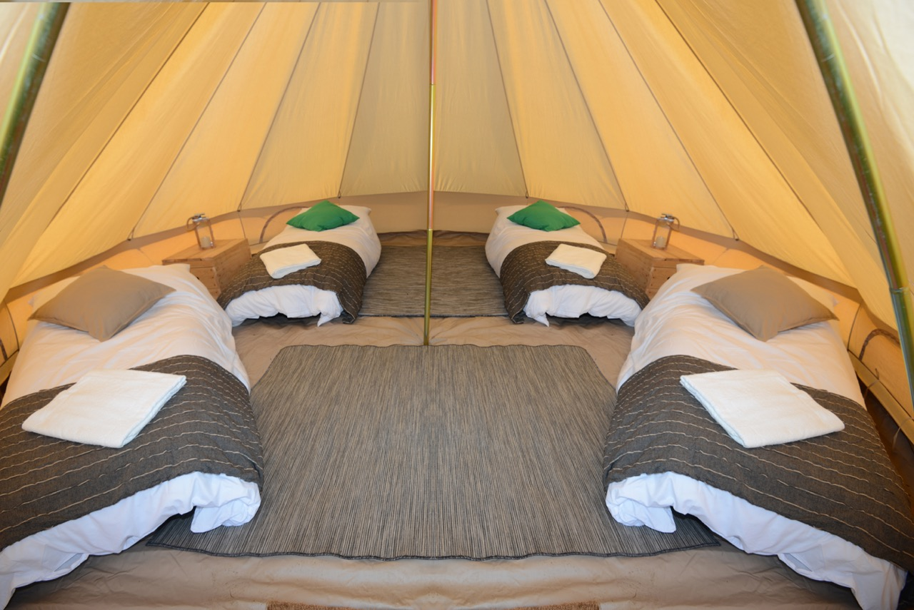 Luxury Bell Tents- SOLD OUT & Luxury Bell Tents- SOLD OUT - Camp Wildfire