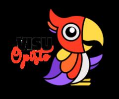 VISU-opisto - Tmi Coltrane  logo