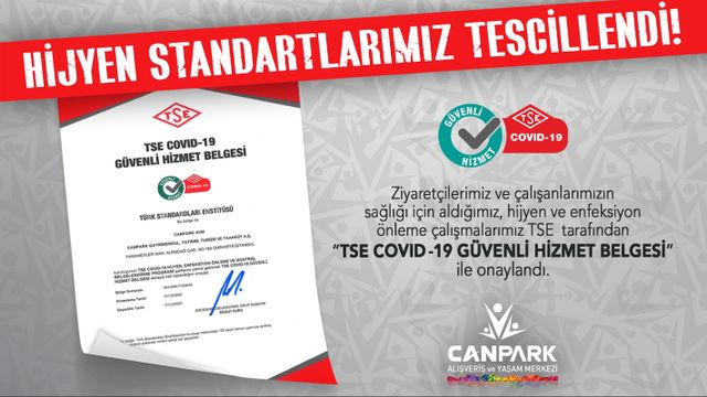 HİJYEN STANDARTLARIMIZ TESCİLLENDİ!