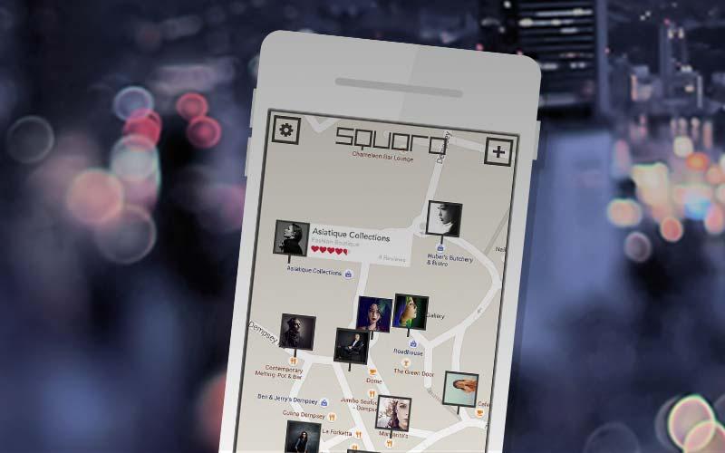 Kartenbasierte Social-App fürs iPhone