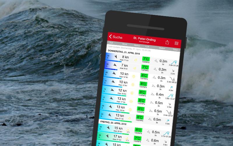 App-Entwicklung für Windfinder